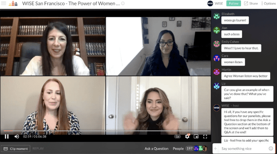 WISE Panel - Virtual Events Conferences