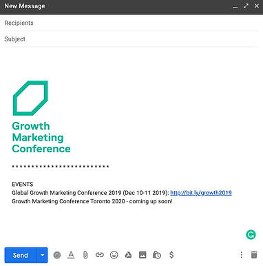 Email Signature - Event Promotion: The 2020 Guide