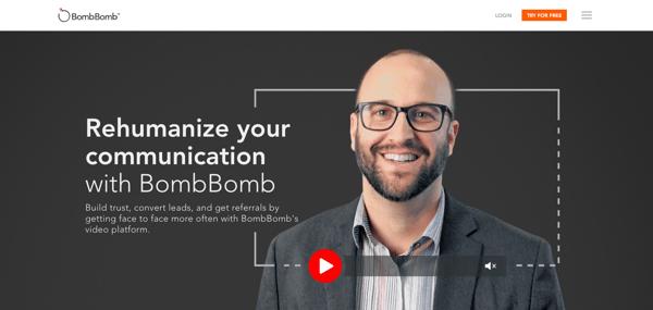 BombBomb Email Video Enhancement