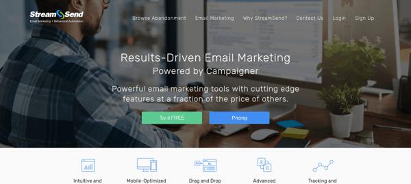 StreamSend Email Marketing