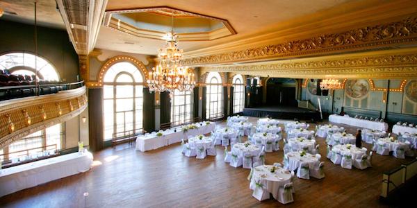 The Crystal Ballroom Portland Venue