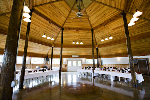 The Gorge Pavilion event space in Portland