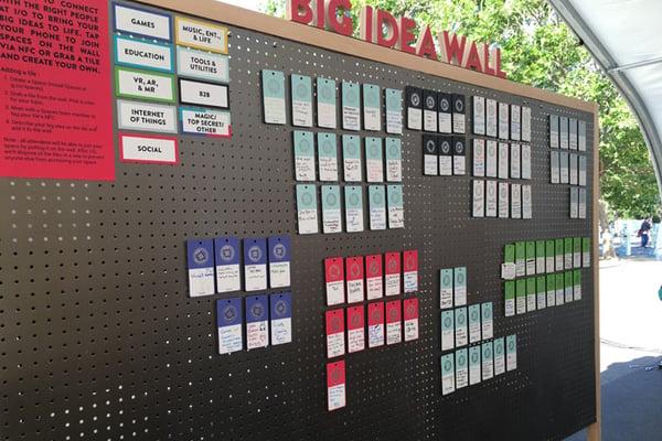 Google's Big Idea Wall
