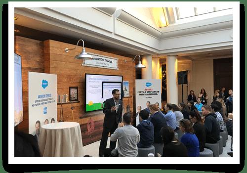 Customer Success Summit's Case Study Theater