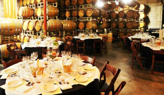 Immersed Event Venue at Balistreri Vineyards
