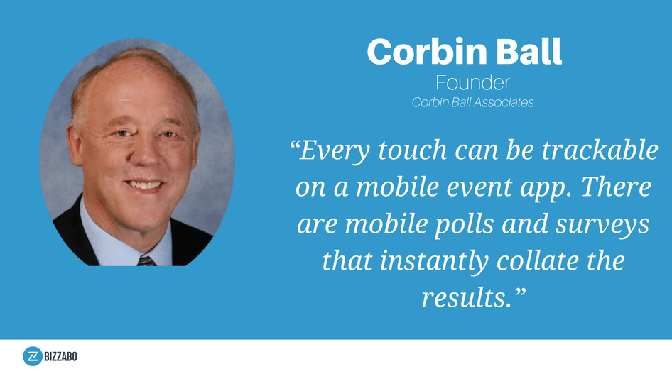 Corbin Ball's thoughts on polls and surveys with an event app
