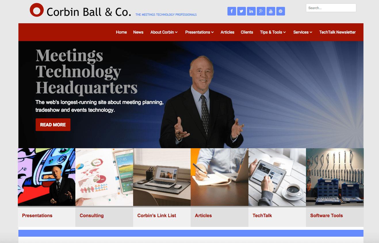 Corbin Ball - Event Industry Blog