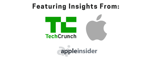 Featuring Insights frm Tech Crunch, Apple and Apple Insider