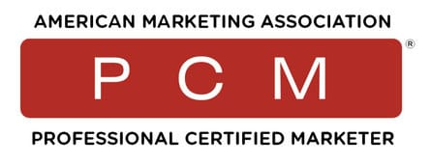 PCM Markting Certification logo