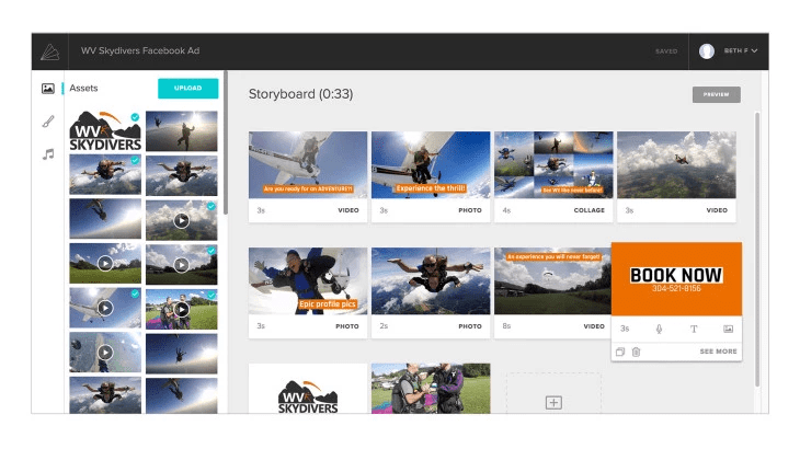 Video platform tools like Animoto can make editing and publishing a video a cinch