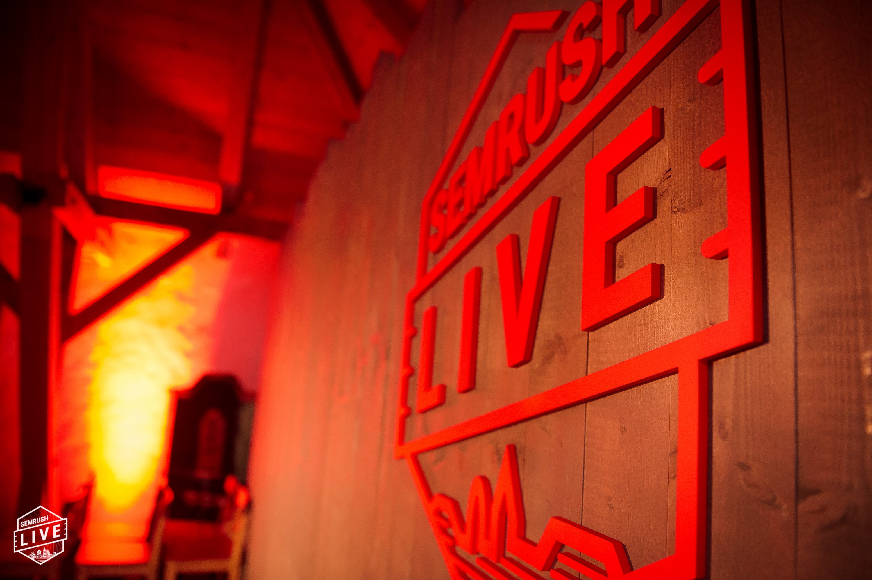 SEMrush LIVE event logo - SEMrush Case Study