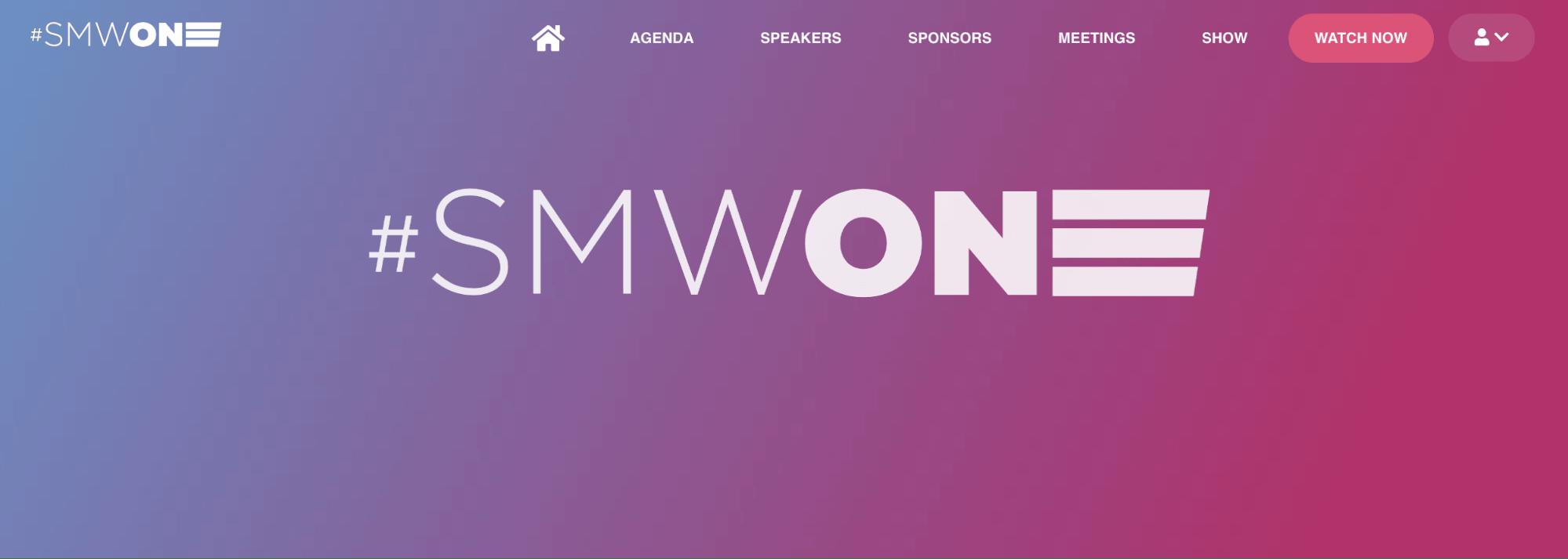 Social Media Week - SMWONE Virtual Event