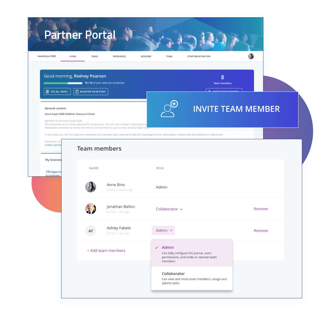 Partner Management Portal Software Experience